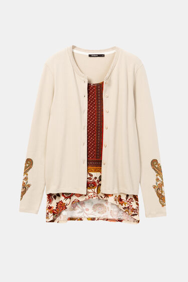 Ethnic blouse jacket | Desigual