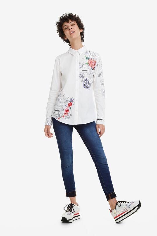 Floral and Doodle Shirt Davinia | Desigual