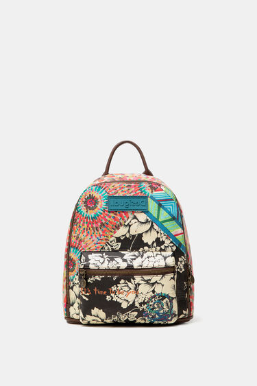 Mini-backpack multiprint message | Desigual