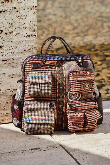 Multipockets patch backpack | Desigual