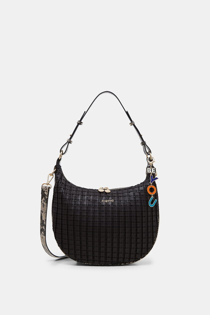 Half-moon bag outer keyring