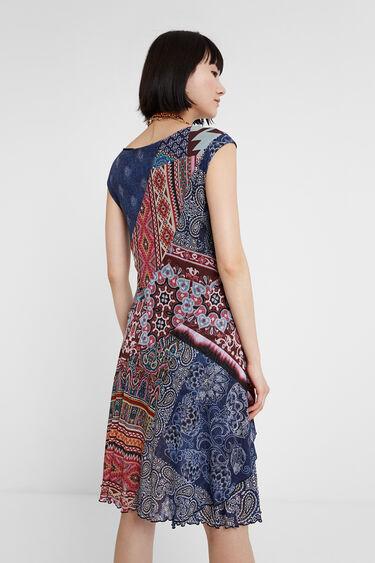 Boho patch dress | Desigual