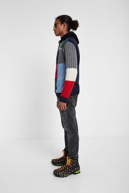 Jersei de tricot trenat   Desigual