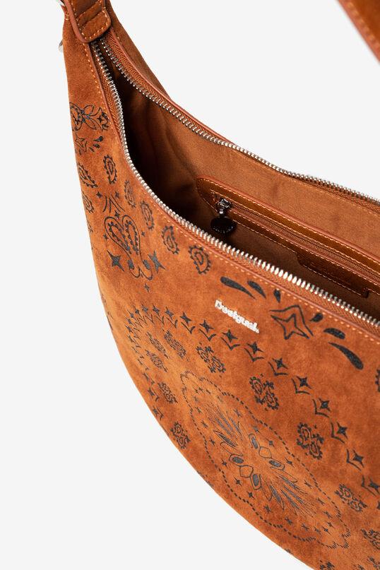 Leather-effect mandalas bag | Desigual