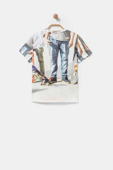 100% cotton T-shirt skate | Desigual