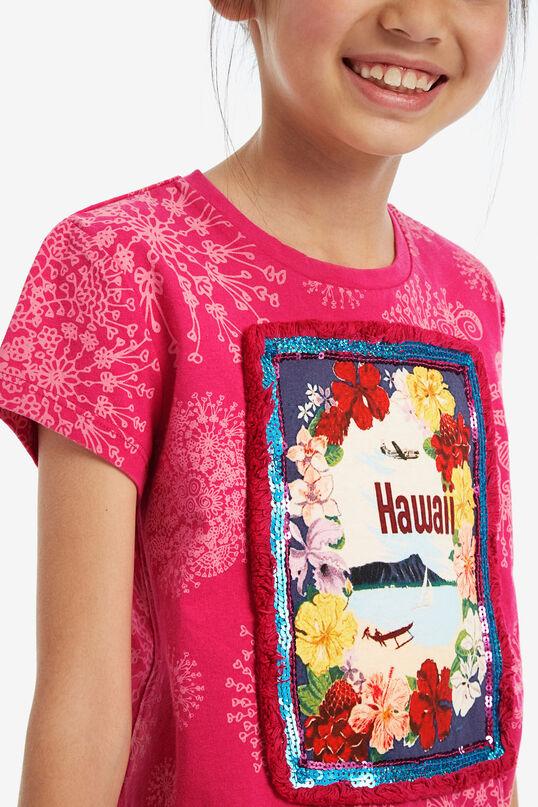 T-shirt fronce latérale | Desigual