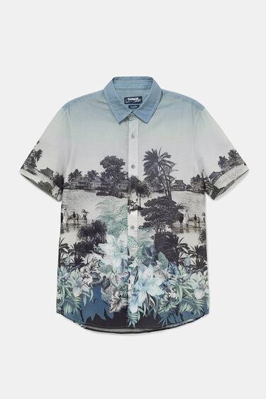 Camisa paisatge balinès | Desigual