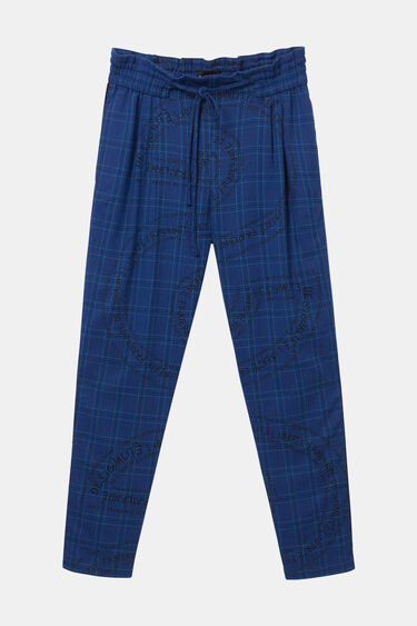 Pantalon pinces Desigualité. | Desigual
