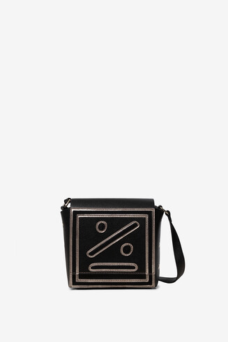 Square bag human face