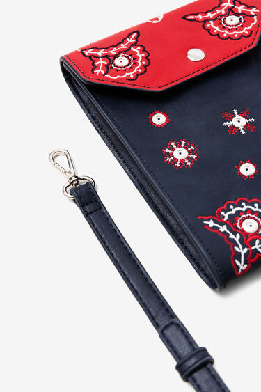 Long coin purse embroidery | Desigual