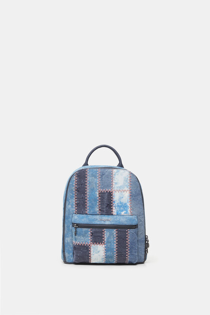 Backpack patch denim