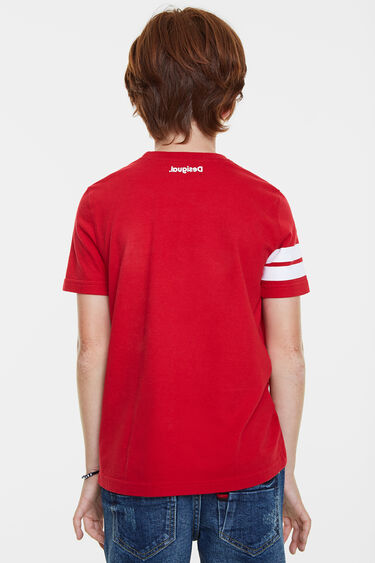 T-shirt sportif à patch | Desigual