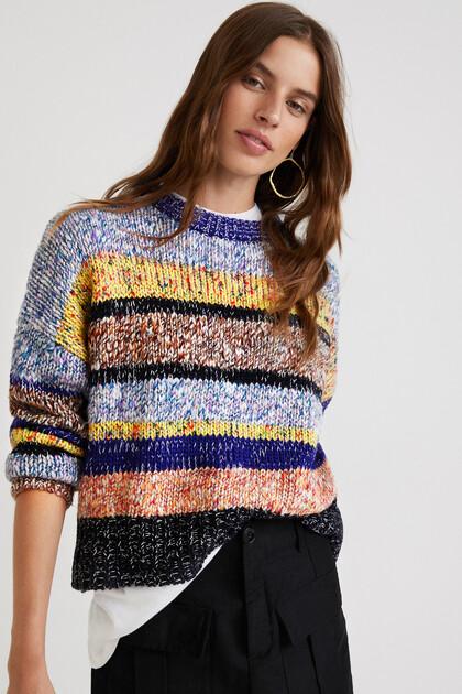 Maglione tricot mélange