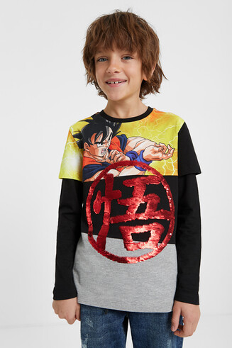 "Shirt mit Pailletten ""Dragon Ball"""