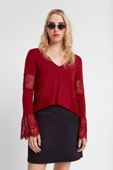 Floral lace blouse | Desigual