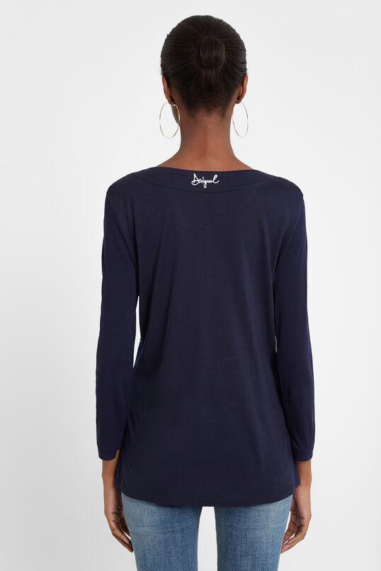 Samarreta doble coll en punta | Desigual
