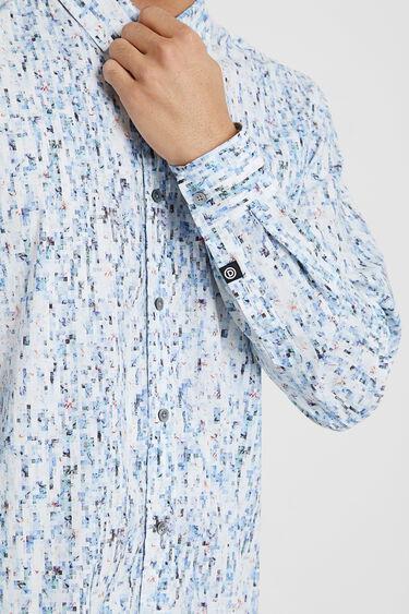 Lässiges Hemd mit kleinen Karos | Desigual