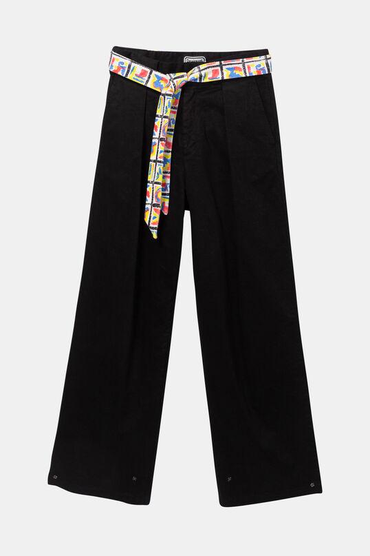 Baggy trousers belt fastener | Desigual