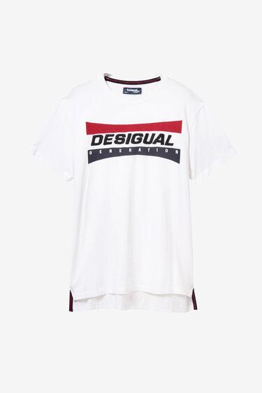 Front T-shirt lettering | Desigual