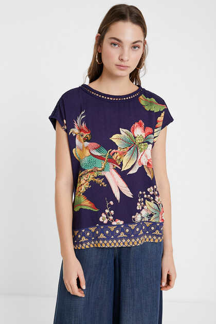 Tropical short T-shirt