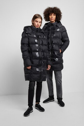 Ecoalf long padded jacket