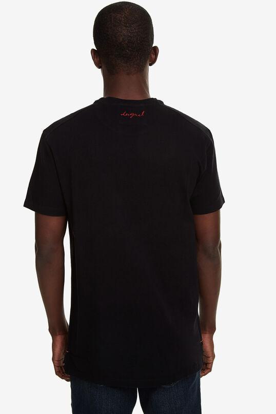 T-shirt met korte mouwen en teksten | Desigual