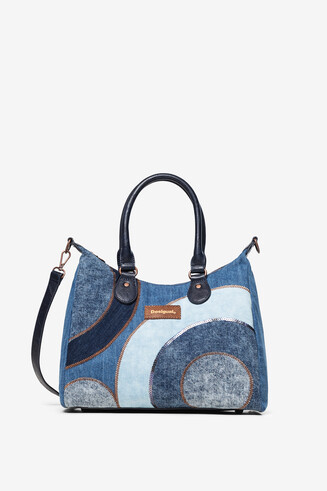 Denim handbag and sling bag