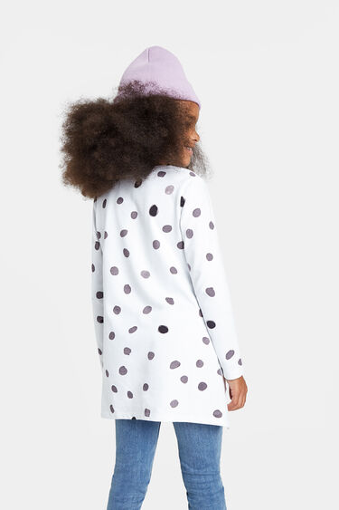Lang 100% katoenen T-shirt | Desigual