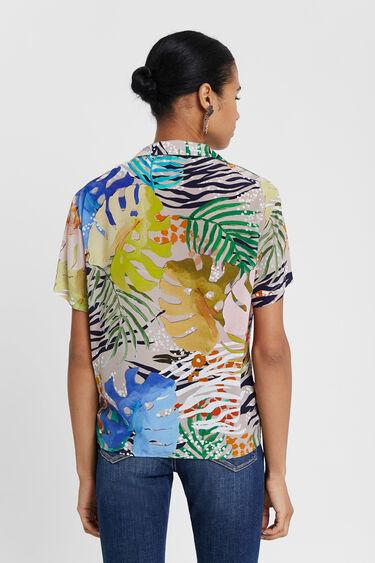 Camisa havaiana multicolorida | Desigual