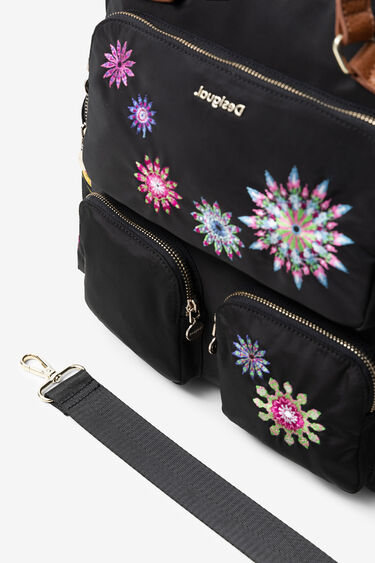 Retro backpack with mandalas | Desigual