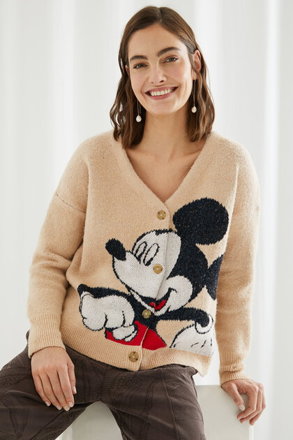 Mickey Mouse knit jacket