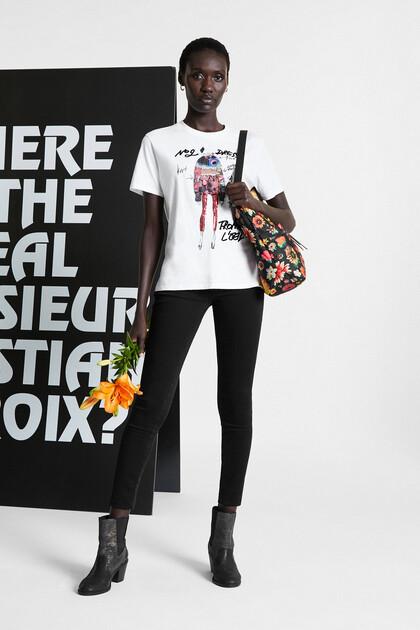 100% cotton T-shirt sequins