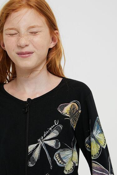 Cropped jumpsuit dragonflies | Desigual