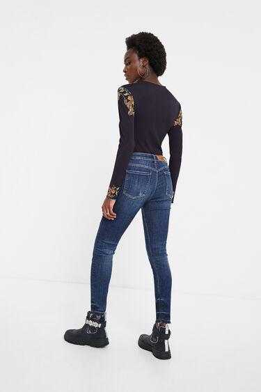 Pantalon en jean skinny | Desigual