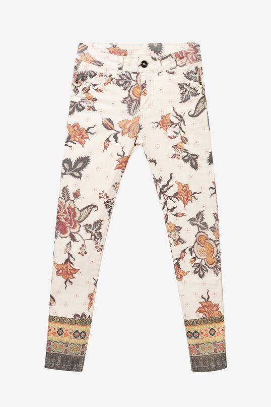Pantalons elàstics fins al turmell print all over | Desigual