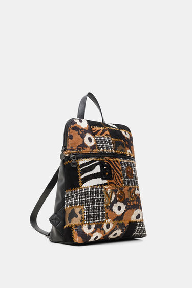 Square patch backpack | Desigual