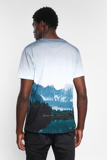T-shirt landscape 100% cotton | Desigual