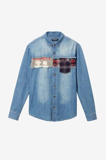 Camisa denim patch | Desigual