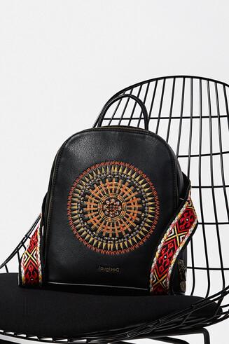Mini backpack African mandala