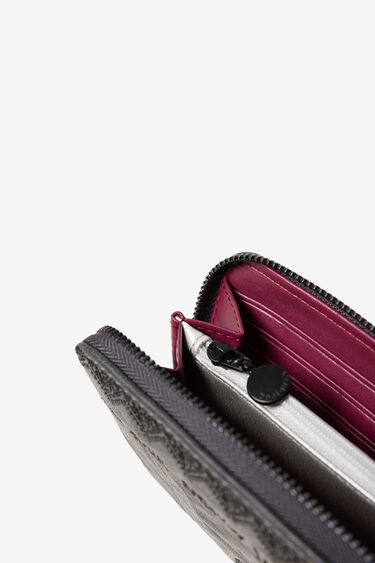 Minimoneder rectangular brodat | Desigual