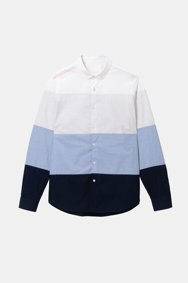 Chemise à rayures 100% coton | Desigual