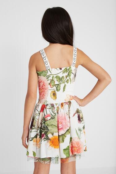 Krótka sukienka na ramiączkach | Desigual
