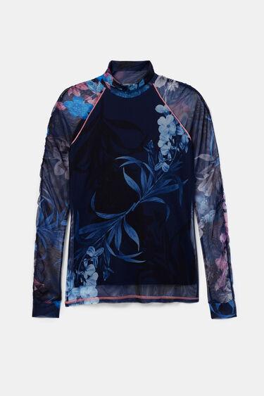 T-shirt slim fleurs | Desigual