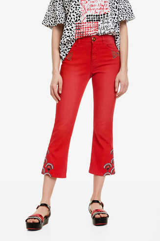 Cropped ankle-length trousers Nilo