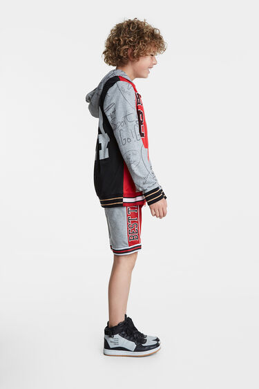 Sport sweatshirt and hood | Desigual