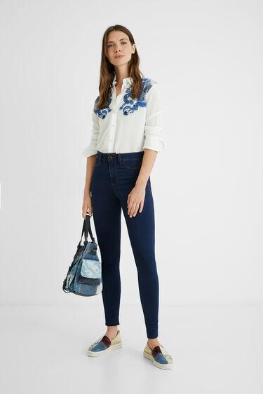 Second skin jeans | Desigual