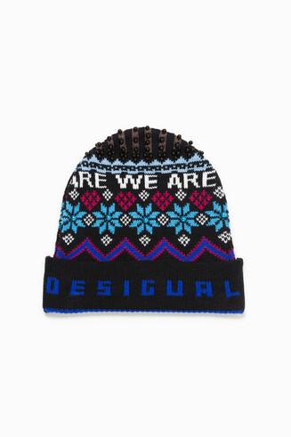 Winter Blue Hat