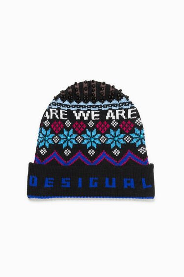 Winter Blue Hat | Desigual
