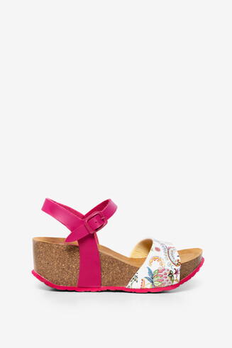 Wedge sandals Bio7 Galactic