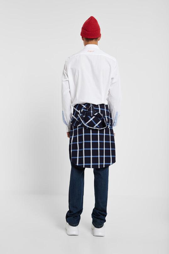 100% cotton slim shirt   Desigual